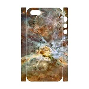 3D [Stars & Space Series] IPhone 5,5S Cases Starry Eyed, Iphone 5s Cases for Teen Girls Cheap Kweet - White by tigerbrace