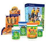 Youngevity Healthy Body Athletic Pack 2.0 (Beyond Tangy Tangerine 2.0, Osteo FX Powder, Ultimate EFA Plus, Rebound FX, Glucogel) (Worldwide Shipping)