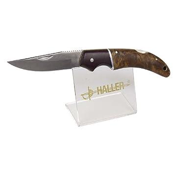Haller soporte para cuchillos Haller, 1 navaja de bolsillo ...