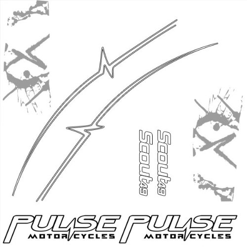 Silver Sticker Pack 2010 for Pulse Scout (STP106)