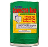 Port A Bag TRASH COMPACTOR BAGS 12ea Kraft Paper, Lined