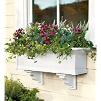 4-Foot Yorkshire Easy-Care Self-Watering Window Planter Box