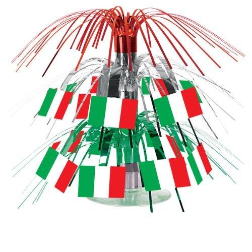 Italian Flag Mini Cascade Centerpiece Party Accessory (2-Pack)
