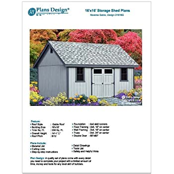 16' x 16' Guest House / Garden Storage Shed with Porch Plans ...  X Bunk House Plans on 20x16 house plans, 16x30 house plans, 12x28 house plans, 16x36 house plans, 18x40 house plans, 12x18 house plans, 14x18 house plans, 20x25 house plans, 10x15 house plans, 18x30 house plans, tiny house plans, 8x12 house plans, 8x10 house plans, 36x24 house plans, 30x24 house plans, 8x24 house plans, 16x26 house plans, 14x30 house plans, 12x32 house plans, 18x18 house plans,