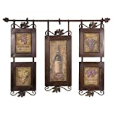 Uttermost Hanging Wine Collage