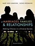 Bundle: Marriages, Families, and Relationships: Making Choices in a Diverse Society, 11th + WebTutor(TM) on Blackboard Printed Access Card, Mary Ann Lamanna, Agnes Riedmann, 1111976562