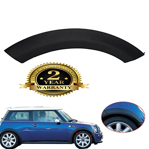 Fender Flares For Mini Cooper Wheel Arch Trim Fender Hood Clips For BMW MINI One D Cooper S R50 R52 R53 2002 to 2008 (Front Right) Car Fender Cover