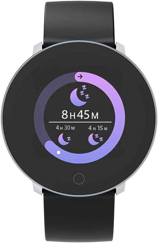 moreFit Halo Fitness Tracker HR, Activity Tracker Smart Watch with Heart Rate Monitor, Waterproof IP68 Smart Fitness Band with Sleep Tracker, Calorie Counter, Pedometer Watch for Kids Women Men