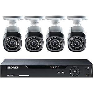 LOREX LHV10082TC4 HD CCTV & 4 Cameras (Black) by LOREX