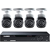 LOREX LHV10082TC4 HD CCTV & 4 Cameras (Black)