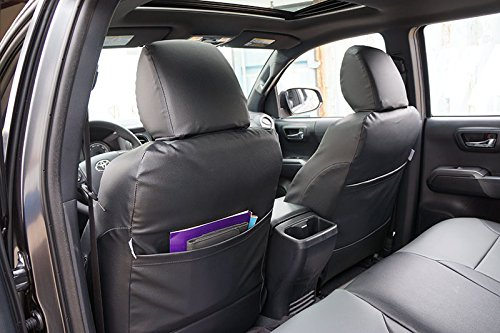 TOYOTA TACOMA SPORT TRD ONLY 2009-2015 Charcoal Artificial leather Custom Made Original fit Front seat covers