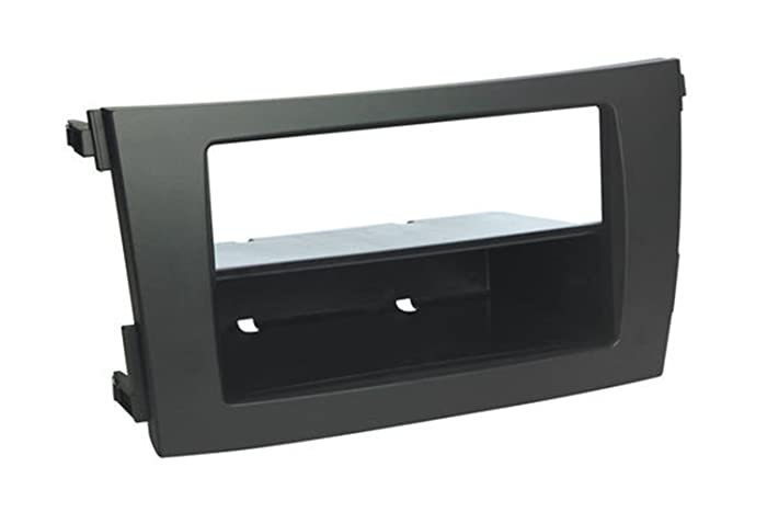 SCOSCHE TA2101B 2009-13 Toyota Corolla (Black) Double DIN or DIN w/Pocket Install Dash Kit