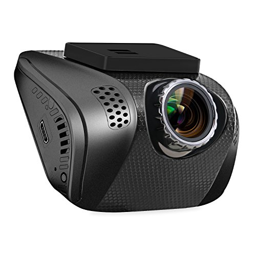 Z-Edge S1 2.0 Inch Full HD 1080P Stealth Design Dash Cam, Dashboard Camera Recorder with 165 Degree Wide Angel ,Emergency Recording ,G-Sensor ,Loop Recording & 16GB SD Card Included
