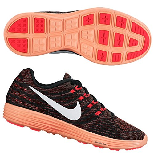 new style a8381 68760 Galleon - NIKE Women s Lunartempo 2 Running Shoe (8 B(M) US, Bright Crimson  Black Bright Mango White)