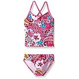 Kanu Surf Big Girls Summer Dream Tankini Swimsuit, Pink, 14