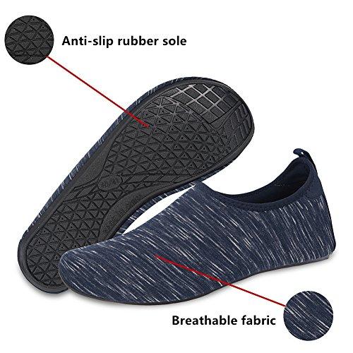 MENG Dark Blue Quick Barefoot Men Shoes Women Dry Water Surf NING Socks Shoes Aqua Yoga Beach Socks for Swim TxUx1nSwdq