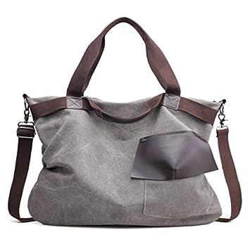 65157bbda9d19 xiaoxiongmao 2017 Large Pocket Casual Women s Shoulder Cross body Handbags  Canvas Leather Bags canvas tote bag