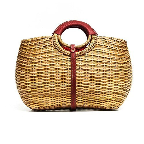 Designer Inspired Trunk Rattan Bag by balitassel