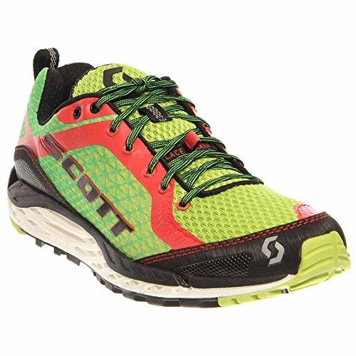 Scott Running Women's T2 Kinabalu 2.0 Womens Walking Shoe,Green/Red,8.5 C US