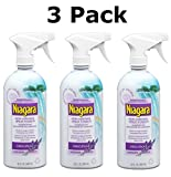 Niagara Non-Aerosol Spray Starch Original Lavender Scent, 22 Fl Oz (3 Pack)
