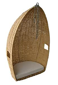 Tejido, mimbre, madera de sauce silla/asiento/Pod