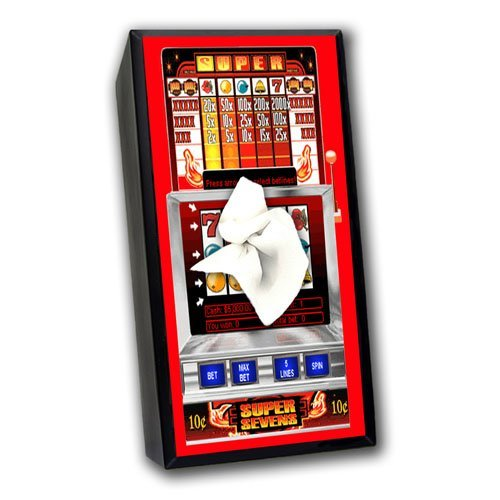 slot machine tissue box cover