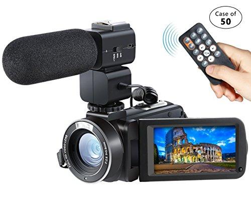 Case of 50,Besteker Camera Camcorder Remote Control WiFi Vid