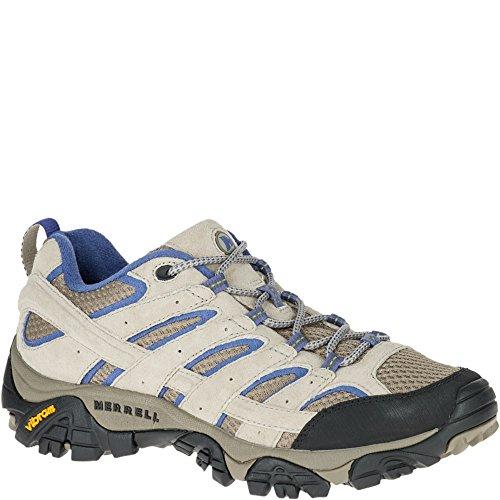 - Merrell Women's Moab 2 Vent Hiking Shoe, Aluminum/Marlin, 9 W US
