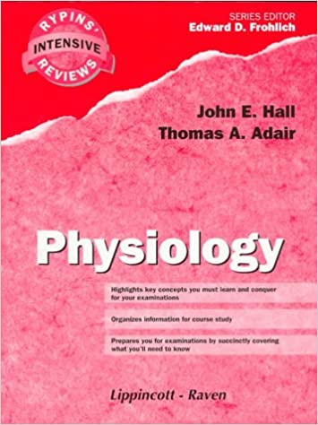 Download online Physiology (Rypins' Intensive Reviews) PDF, azw (Kindle), ePub