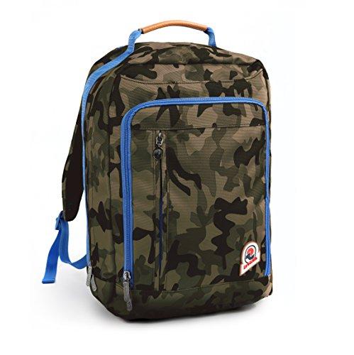 7e391eecb2b723 Zaino INVICTA - DAILY - VERDE camouflage - Ufficio e tempo libero - porta  pc fino
