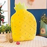 Creative Pillow Covers Cute Fruits Pillowcase Comfortable Crystal Velvet Pillowcase for Home Sofa Bedding Office Car Decor (E)
