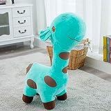 Y&Y Kid Sofa Chair seat,Plush Riding Kidd Sofa Giraffe Animal Child Toy Children's Furniture for boy Girl Birthday Gift-Green 19.6in