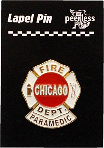 Chicago Fire Department Paramedic Lapel Pin -
