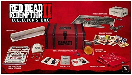 Red Dead Redemption 2: Collectors Box: Amazon.es: Videojuegos