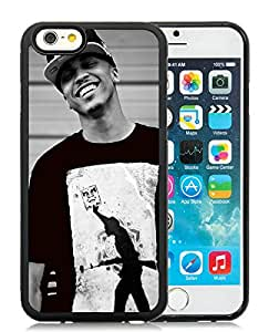 Popular iPhone 6 4.7 Inch TPU Case ,Unique And Lovely Designed With August Alsina 1 Black iPhone 6 4.7 Inch TPU High Quality Cover