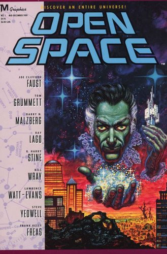 Available SPACE # 1-4 Complete Sci-Fi Anthology Series (OPEN SPACE (1990 MARVEL))