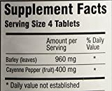 Green Supreme Barley Power Plus Cayenne 400 Tablets