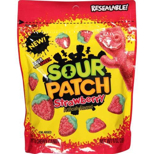 Sour Patch Candy, Strawberry (Pack of 14)