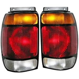 95 96 97 Ford Explorer Taillight Tail Light Lamp PAIR