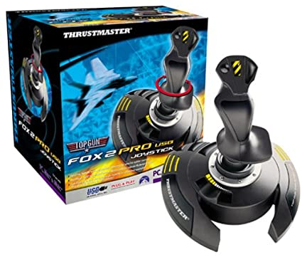 Amazon.com: Thrustmaster Top Gun Fox 2 Pro USB Joystick: Electronics