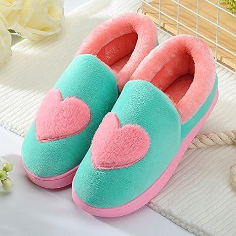 9f8b901f6a30f Amazon.com: Aemember Winter Male Cotton Slippers In Home Furnishing ...