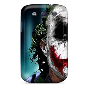 Case Cover Heath Ledger As The Joker/ Fashionable Case For Galaxy S3