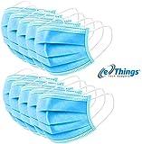 Wave Blue Disposable Face Masks