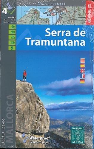 Descargar Libro Serra De Tramuntana, Mapas Excursionistas Impermeables. 4 Mapas. Escala 1:25.000. Español, Català, English, French, Deutsch. Alpina Editorial. Vv.aa.