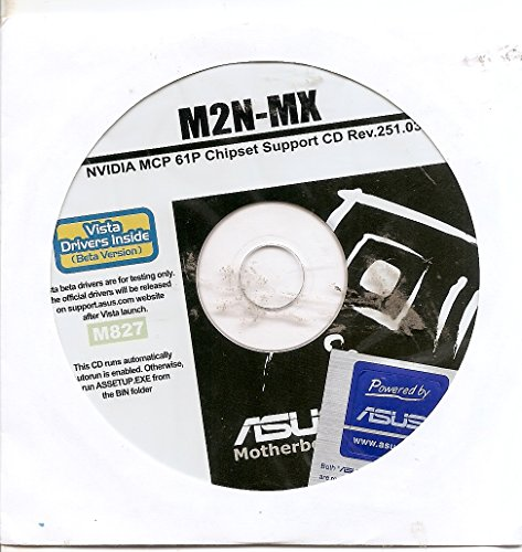 M2N-MX NVIDIA MCP 61P Chipset Support CD -