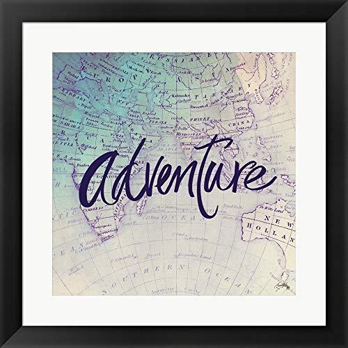 Metaverse Elizabeth Medley 'Adventure' Framed Art ()
