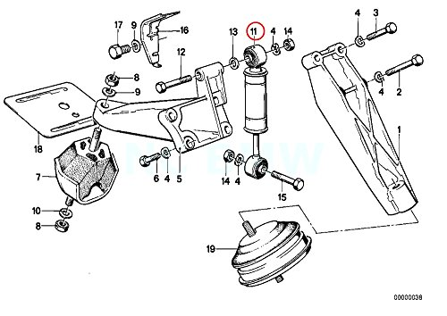 Amazon Com Bmw Genuine Engine Damper Automotive