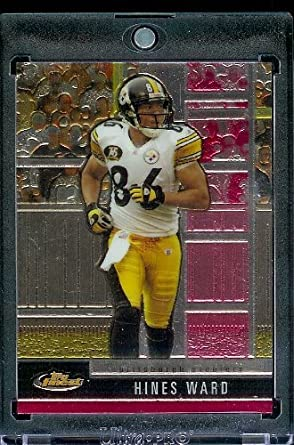 3ddd735b0 2008 Topps Finest   - Hines Ward   Pittsburgh Steelers   Football Card in  Protective Screwdown