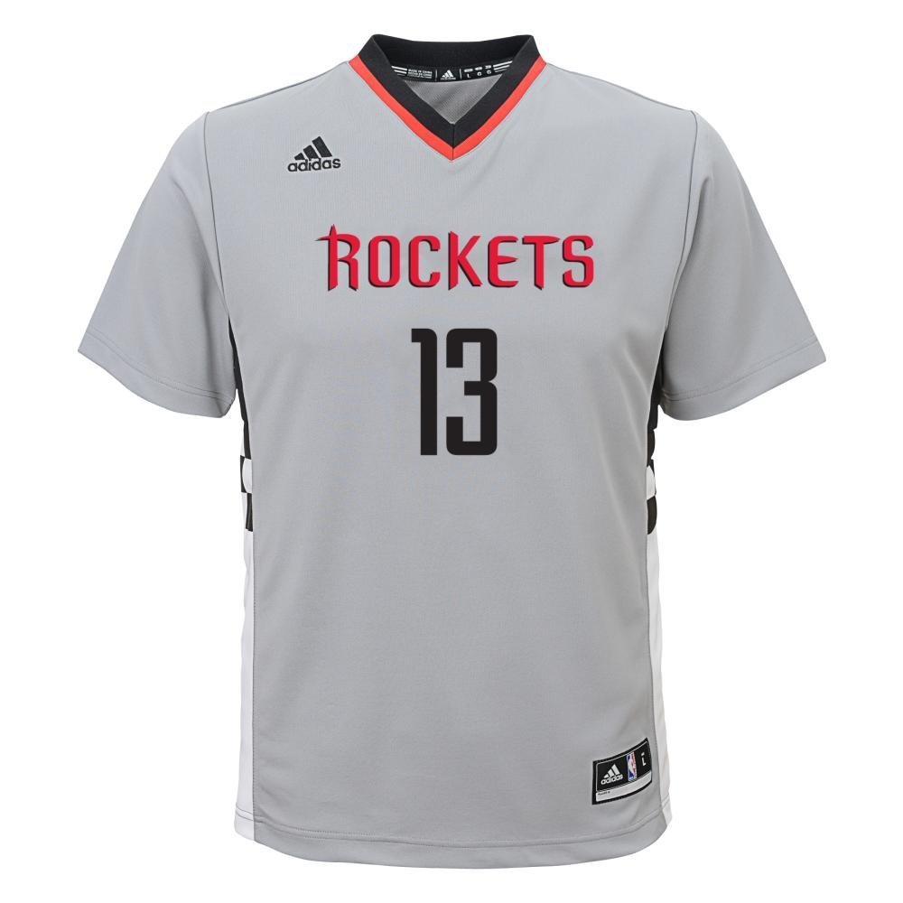 new product 072b0 e9799 adidas Houston Rockets James Harden Youth Alternate Replica Jersey Gray