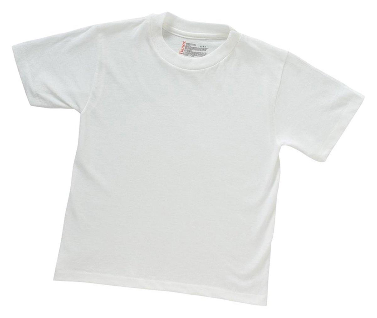 Hanes ComfortSoft Tagless Boys Crewneck T-Shirt 3-Pack B2138